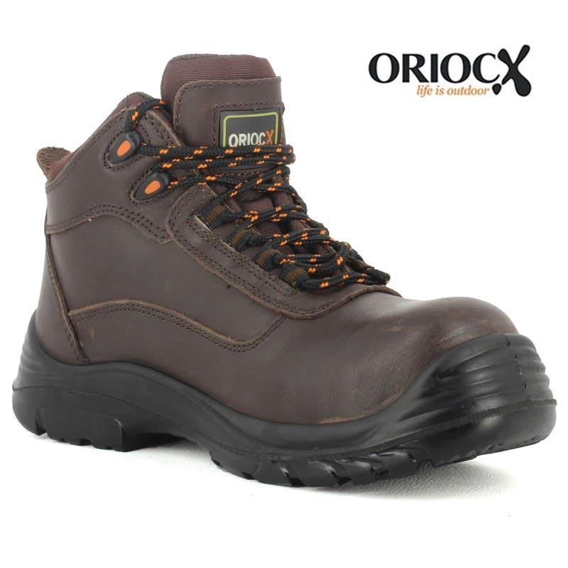 chaussures de sécurité haute sans métal