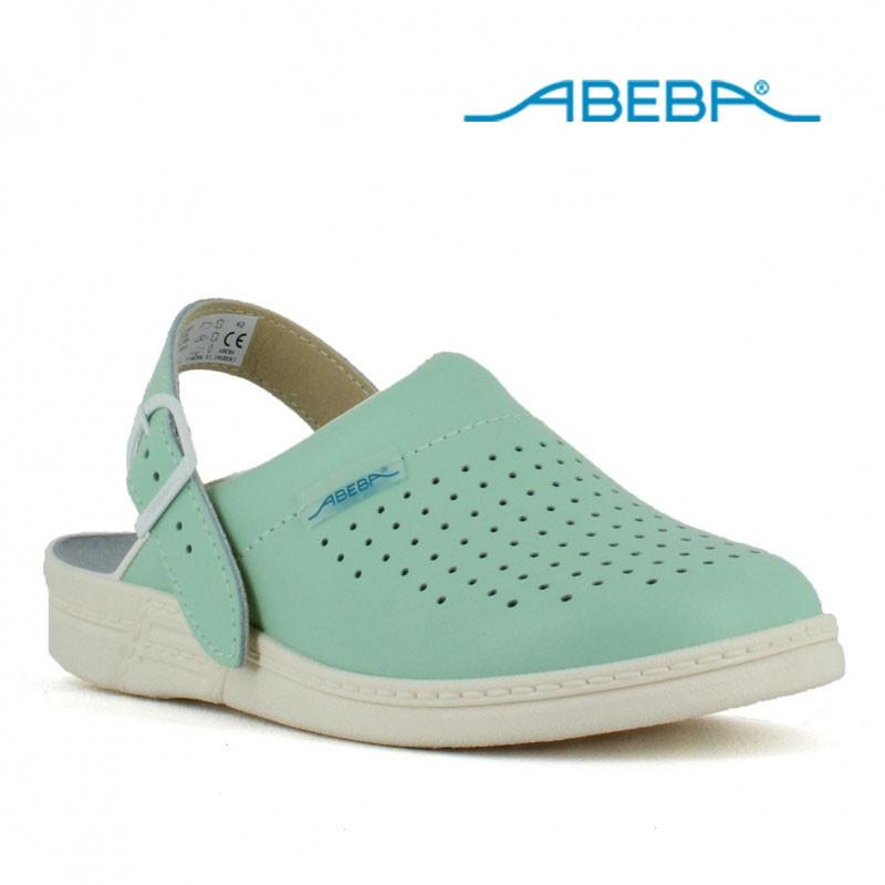 e2decef38db Chaussure médicale femme sabot vert pour hôpital - LISAVET