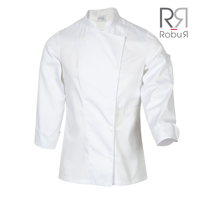 Veste de cuisine femme à manches longues pas cher Robur