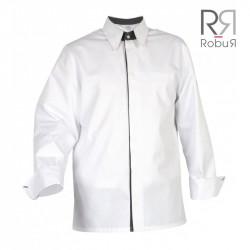Veste de cuisine style chemise