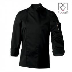 Veste de cuisine robur nero pas cher