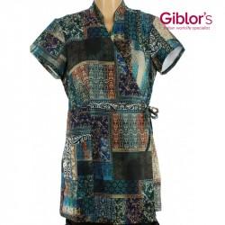 Kimono à motifs pour esthéticiennes