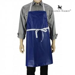 Tablier de cuisine PVC bleu france