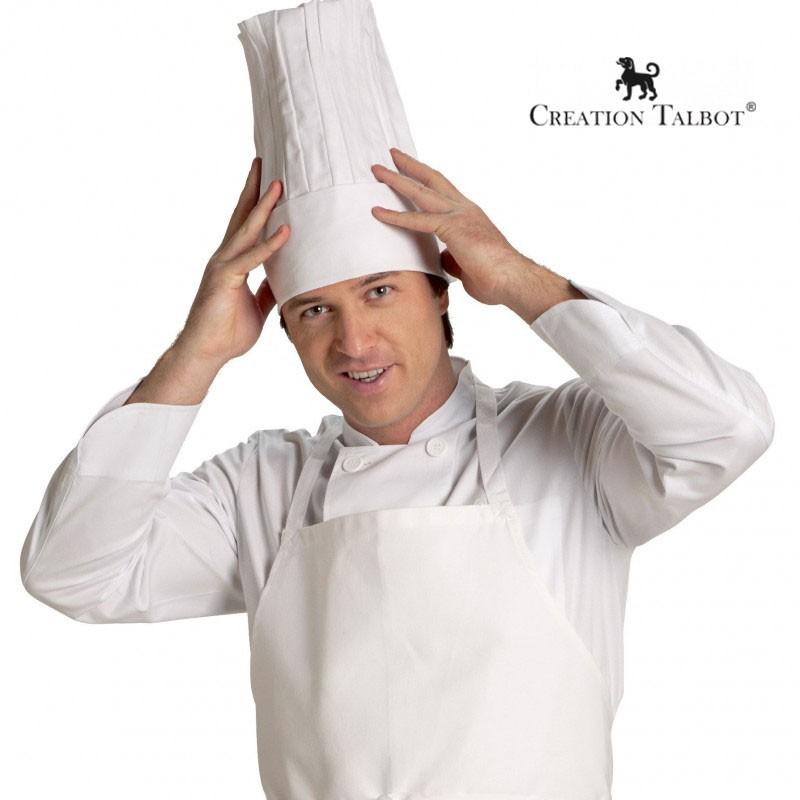 Toque grand chef réglable