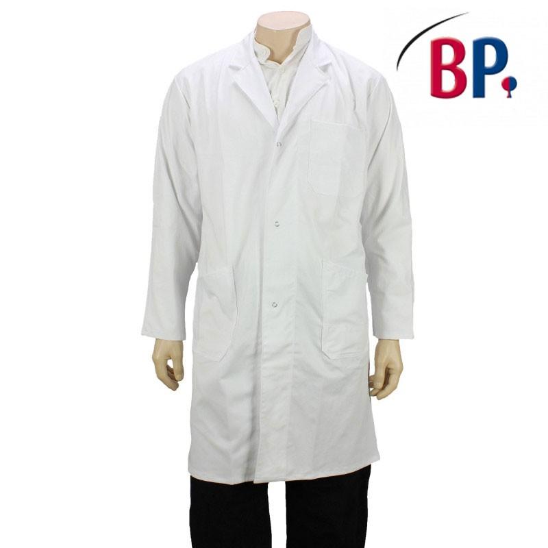 blouse de chimie blanche pour homme pas ch re lisavet. Black Bedroom Furniture Sets. Home Design Ideas