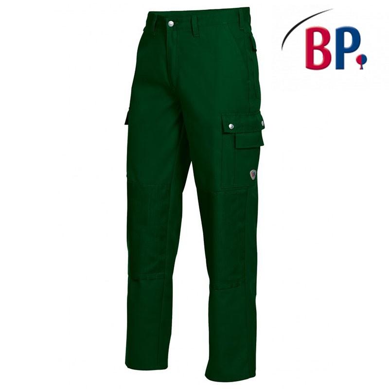 pantalon espace vert avec genouillere en cordura