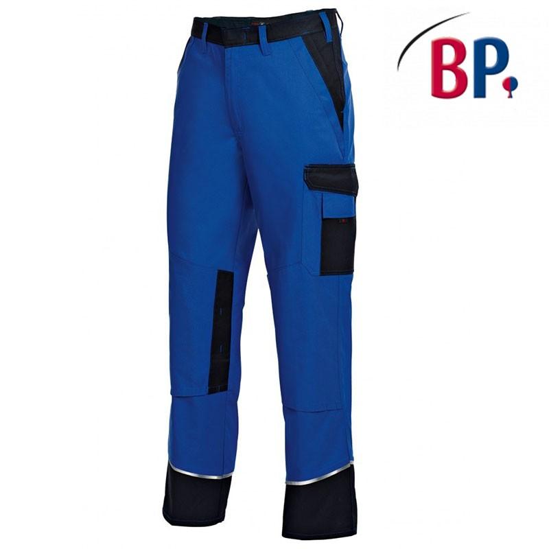 pantalon de travail avec genouilleres bicolore