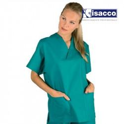 blouse médicale manche courte