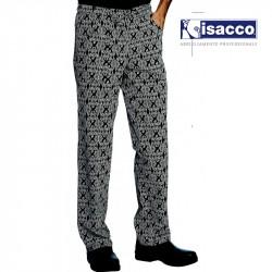 Pantalon de cuisine motif maori