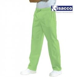 pantalon medical vert anis