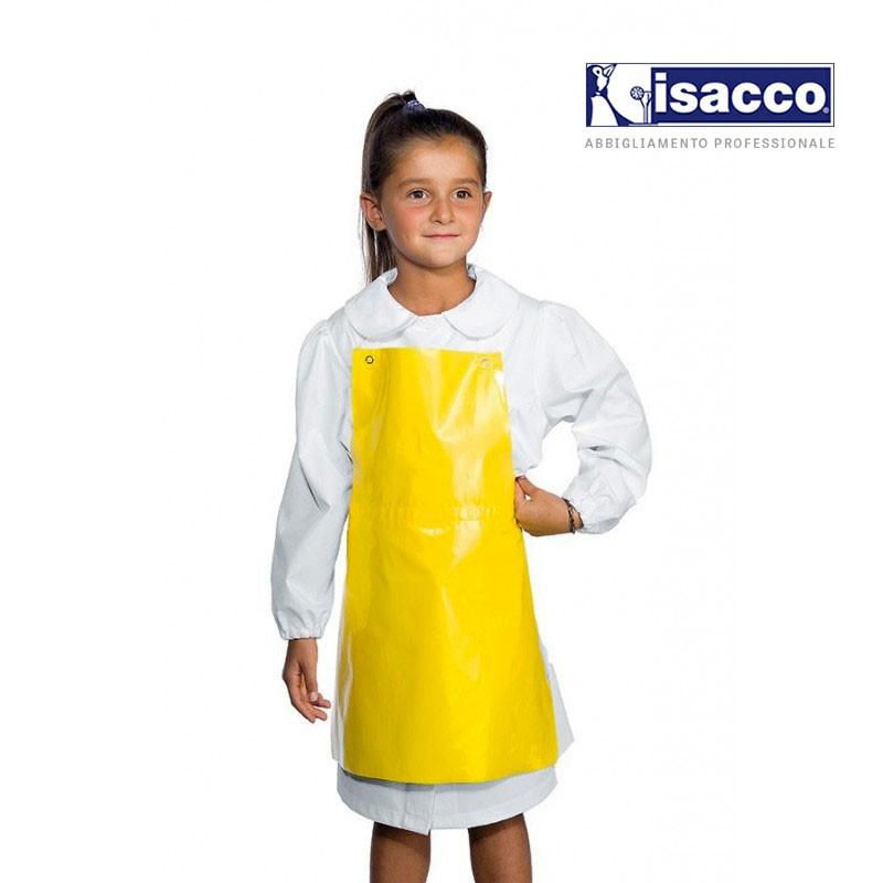 Tablier ciré jaune pour enfant