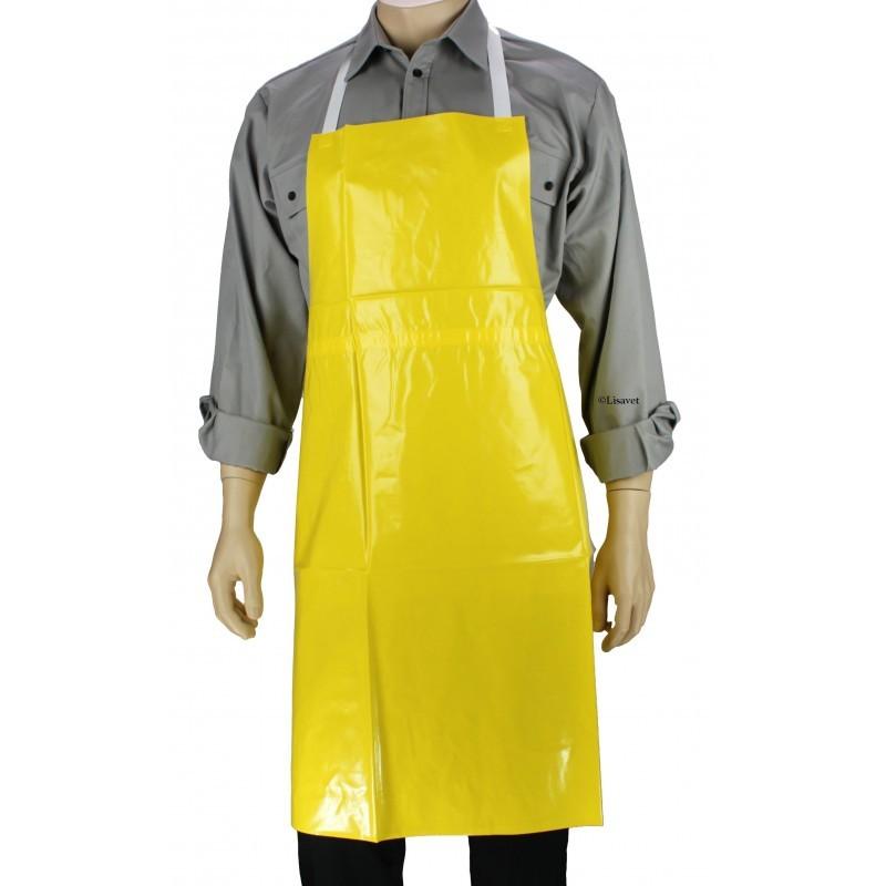 MaYee Tablier de Cuisine Impermeable Tablier PVC Professionnel Unisex pour Homme et Femme