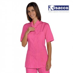 Uniforme estheticienne rose fuchsia pas cher