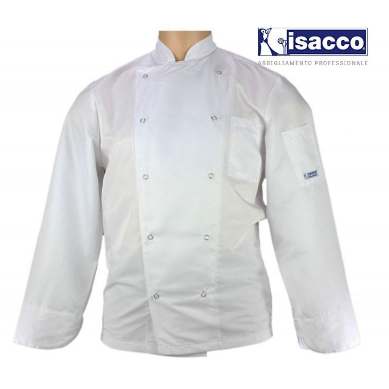 Veste de cuisine blanche ultra-légere