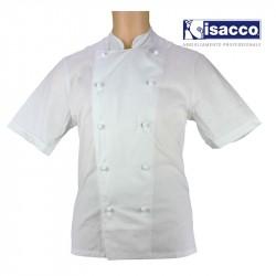 veste de cuisine pas chere manches courtes