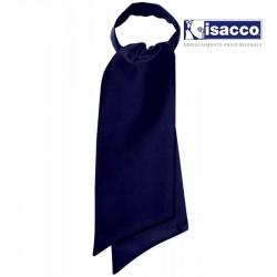 cravate foulard bleu marine femme