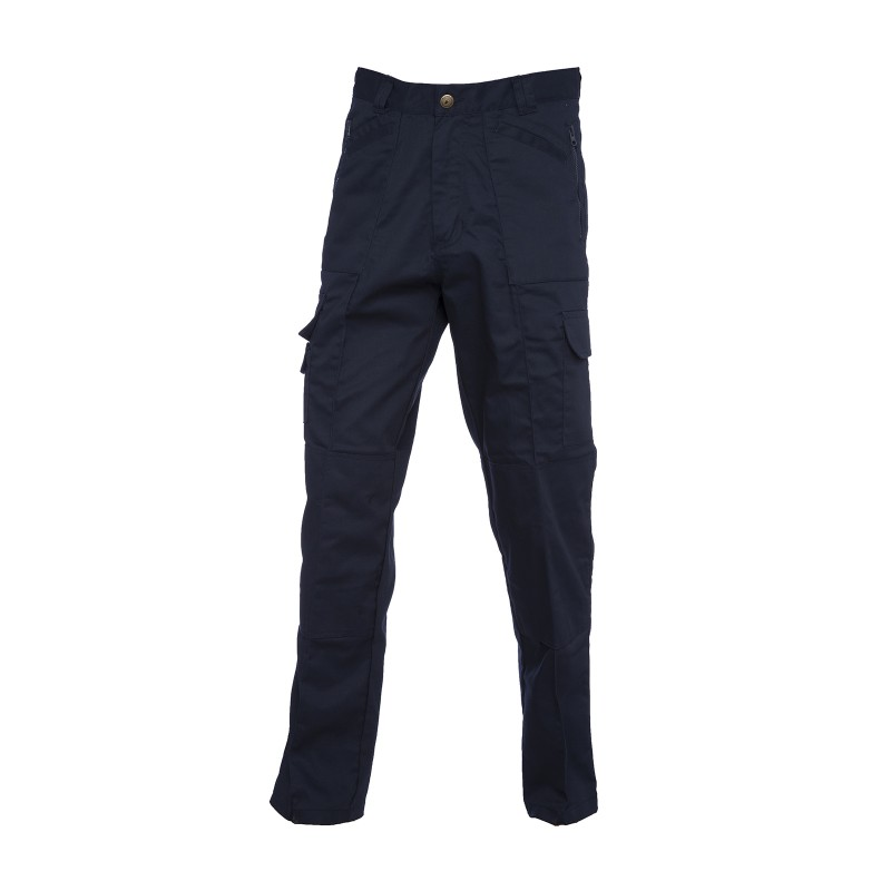 Pantalon avec genouillere pas cher bleu marine