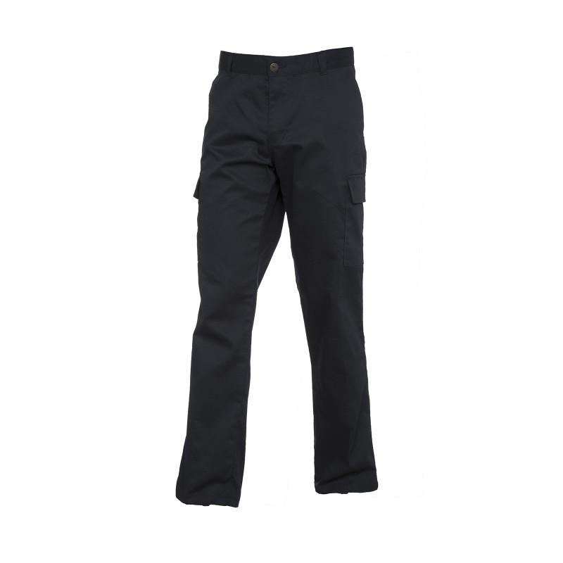 Pantalon de travail noir pour femme