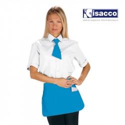 tablier serveur court bleu turquoise