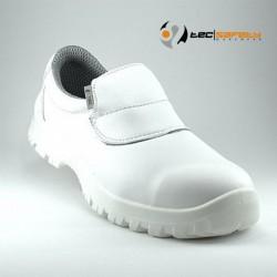 Chaussure de cuisine blanche