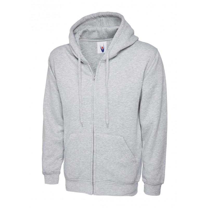 ffc4d93456c67 Sweat-shirt de travail zippé à capuche pas cher à 20,90€HT LISAVET