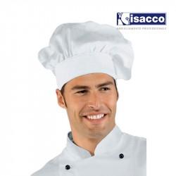 Toque italienne blanche