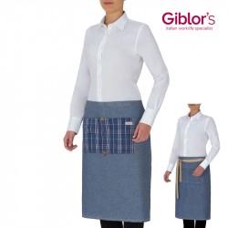 tablier-court-serveur-serveuse-jean-coton