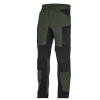 pantalon de travail kaki et noir fhb