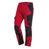 Pantalon de travail slim Florian FHB rouge/noir