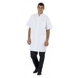 Blouse médicale unisexe blanche
