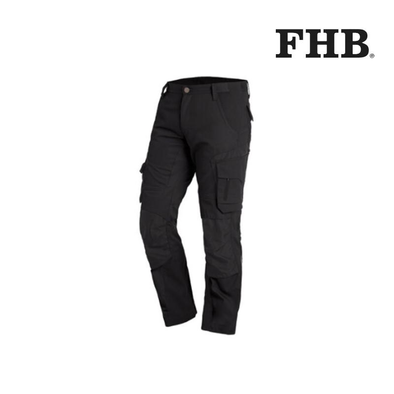 Pantalon de travail slim Florian FHB noir