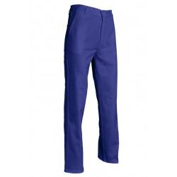 pantalon bleu de travail coton