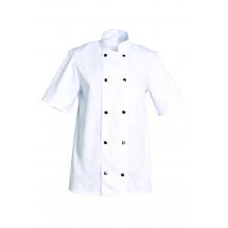veste de cuisine manche courte