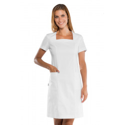 Blouse médicale style robe stretch ISACCO
