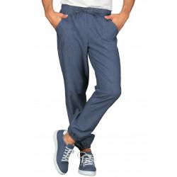 Pantalon jogging jeans bas élastique ISACCO