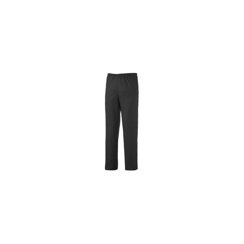 pantalon de cuisine unisexe noir ou cru lisavet. Black Bedroom Furniture Sets. Home Design Ideas