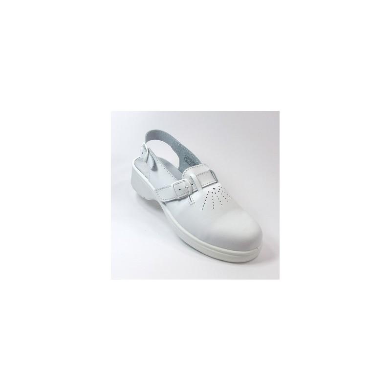 chaussure de s curit cuisine blanche pour femme lisavet. Black Bedroom Furniture Sets. Home Design Ideas