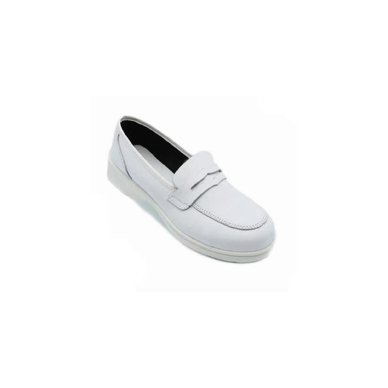 Chaussure de s curit cuisine blanche pour femme lisavet - Chaussure de securite blanche ...