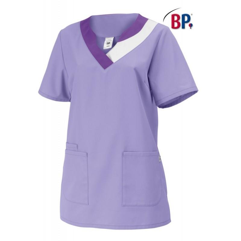 5dc26303c6e Tunique médicale pour femme couleur violet pas cher - LISAVET