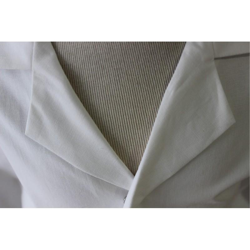 blouse blanche en coton pas cher pour le college lisavet. Black Bedroom Furniture Sets. Home Design Ideas