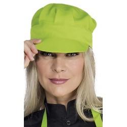 Casquette vert anis
