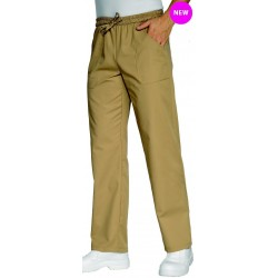 Pantalon de cuisine élastique