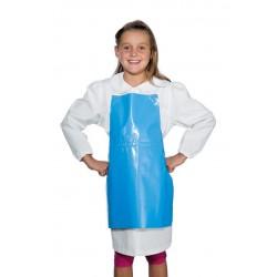 Tablier ciré bleu pour enfant