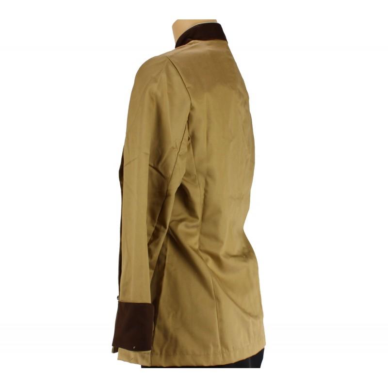 Veste beige pour femme