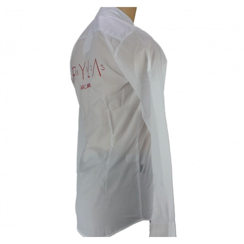 chemise de service blanche pour homme et femme lisavet. Black Bedroom Furniture Sets. Home Design Ideas