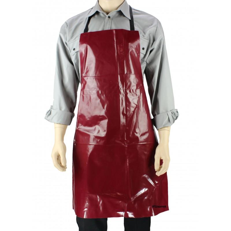 Tablier pvc boucher pas cher 6 90 ht lisavet - Tablier de cuisine professionnel pas cher ...