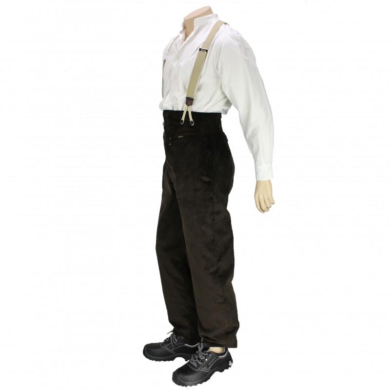 pantalon largeot velours taille haute fabrication fran aise lisavet. Black Bedroom Furniture Sets. Home Design Ideas