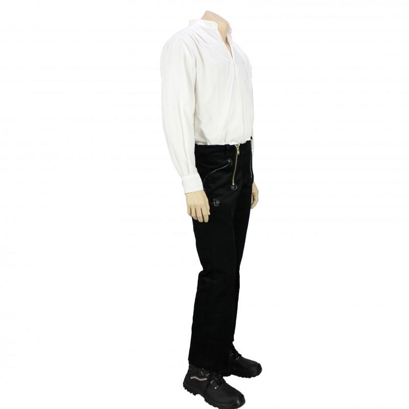 pantalon largeot de charpentier allemand en velours fhb lisavet. Black Bedroom Furniture Sets. Home Design Ideas