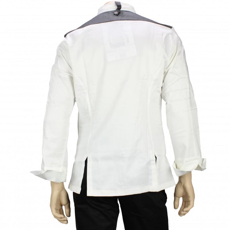 veste de cuisine haut de gamme pour homme lisavet. Black Bedroom Furniture Sets. Home Design Ideas