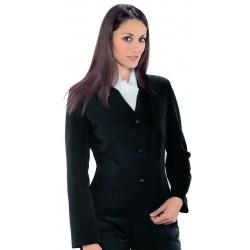veste tailleur noire pour femme